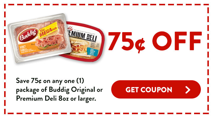 Save 75 cents on any 1 package of Buddig Original or Premium Deli 8 ounces or larger