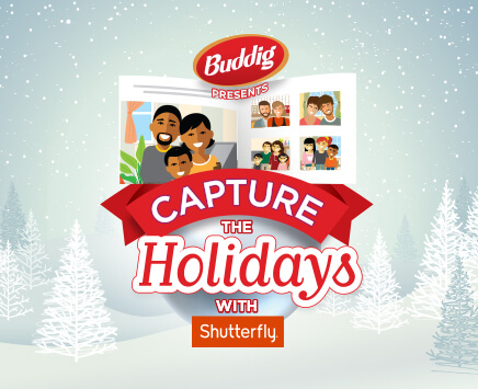 Capture the Holidays with Shutterfly