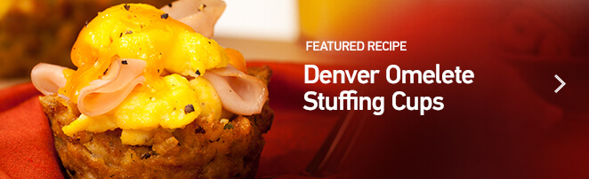 Denver Omelette Stuffing Cups